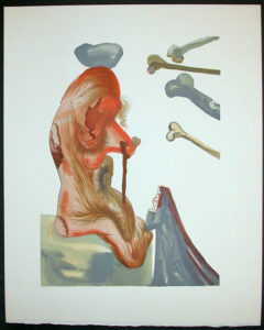 Salvador Dali - Divine Comedy Decomposition - DC43.jpg