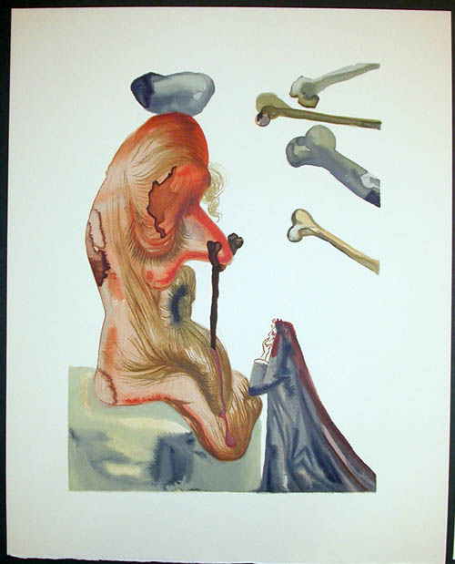 Salvador Dali - Divine Comedy Decomposition - DC65.jpg