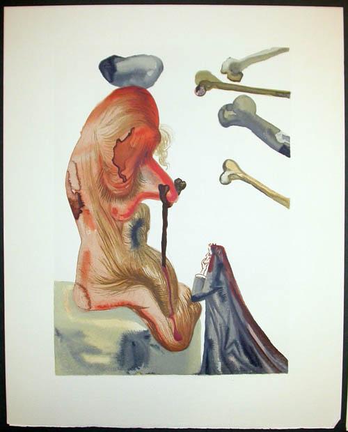 Salvador Dali - Divine Comedy Decomposition - Divine Comedy Decomposition