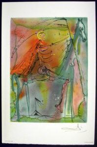 Salvador Dali - Les Chevaux de Dali - Death Horse