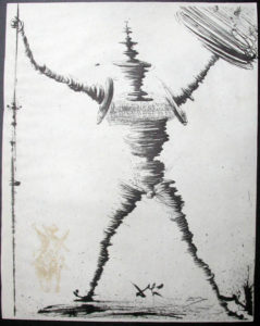 Salvador Dali - Don Quichotte de la Mancha, Book A – 1957 - Don Quichotte