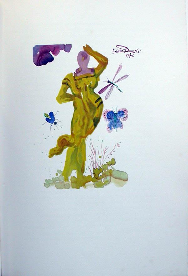 Salvador Dali - L'Art d'Aimer - Ovide - E