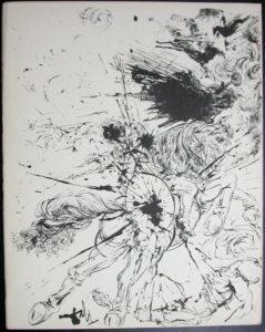 Salvador Dali - Don Quichotte de la Mancha, Book A - 1957 - Apparition de Dulcinne - #1