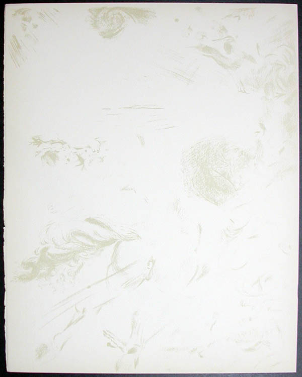 Salvador Dali - Don Quichotte de la Mancha, Book A - 1957 - Apparition de Dulcinne - #11