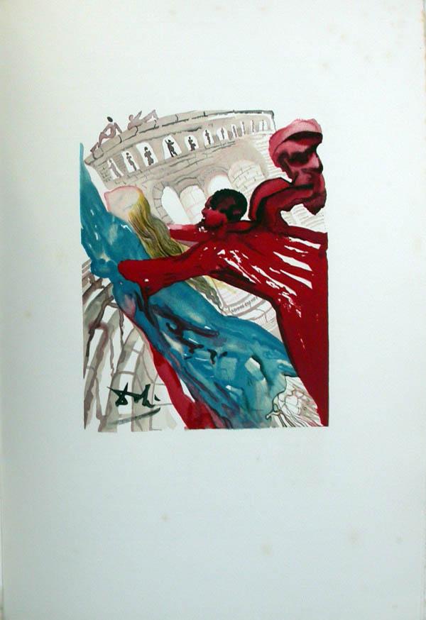 Salvador Dali - L'Art d'Aimer - Ovide - F
