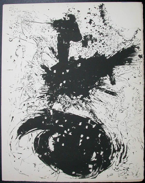 Salvador Dali - Don Quichotte de la Mancha, Book A - 1957 - Les Chimere The Visions - #1
