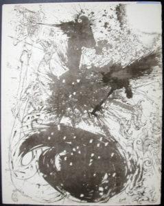 Salvador Dali - Don Quichotte de la Mancha, Book A - 1957 - Les Chimere The Visions - #3