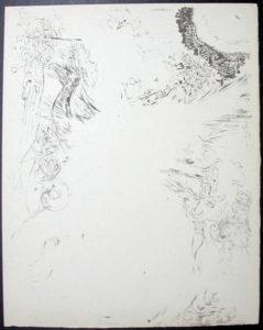 Salvador Dali - Don Quichotte de la Mancha, Book A - 1957 - Les Chimere The Visions - #6