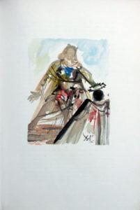 Salvador Dali - L'Art d'Aimer – Ovide - G