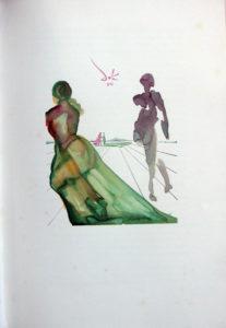 Salvador Dali - L'Art d'Aimer – Ovide - H
