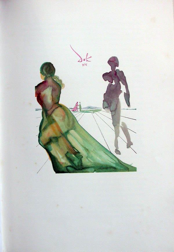 Salvador Dali - L'Art d'Aimer - Ovide - H