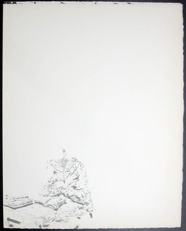Salvador Dali - Don Quichotte de la Mancha, Book A - 1957 - Reverie of Don Quichotte - #5
