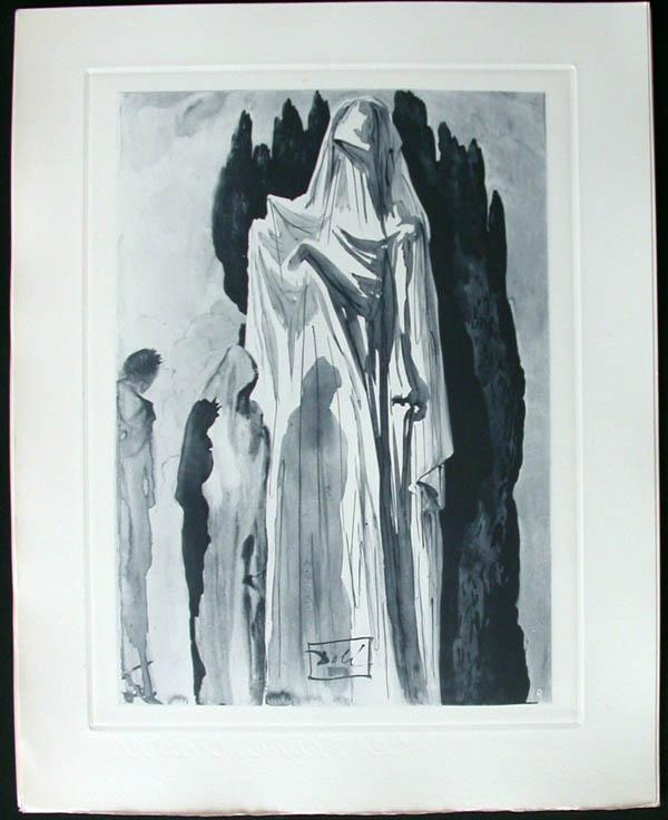 Salvador Dali - Divine Comedy Complete Books - Farinata