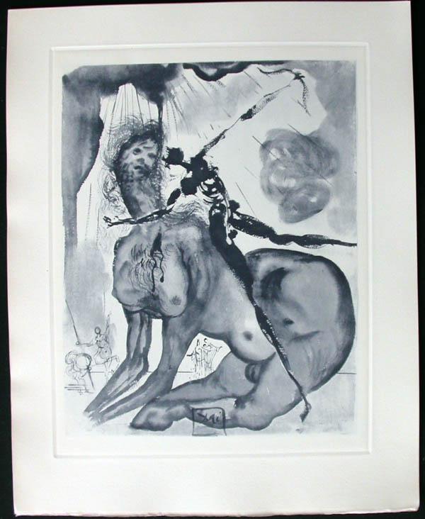 Salvador Dali - Divine Comedy Complete Books - The Minotaur