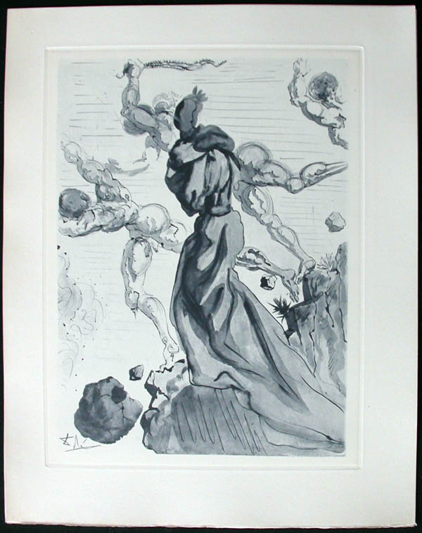 Salvador Dali - Divine Comedy Complete Books - The Seducers