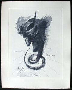 Salvador Dali - Divine Comedy Complete Books - The Black Cherub