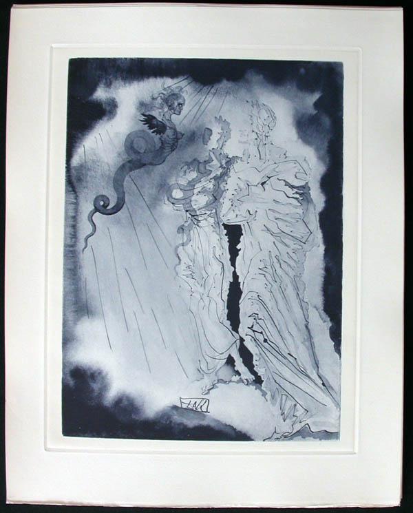 Salvador Dali - Divine Comedy Complete Books - Fraud