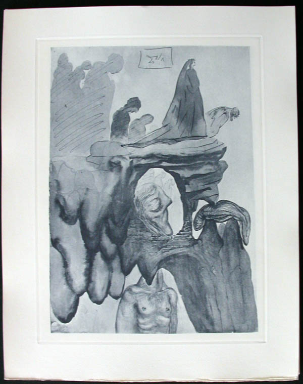 Salvador Dali - Divine Comedy Complete Books - The Corrupt