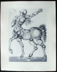 Salvador Dali - Divine Comedy Complete Books - The Centaur