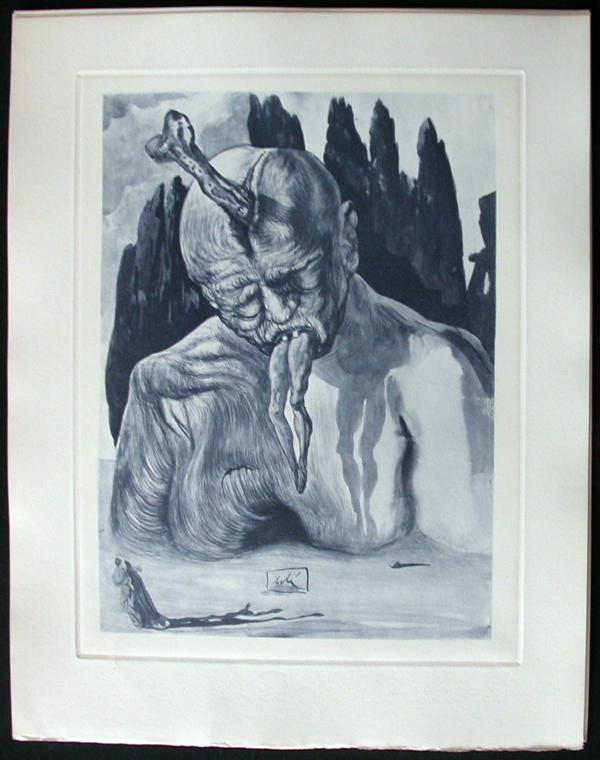 Salvador Dali - Divine Comedy Complete Books - The Logician Devil