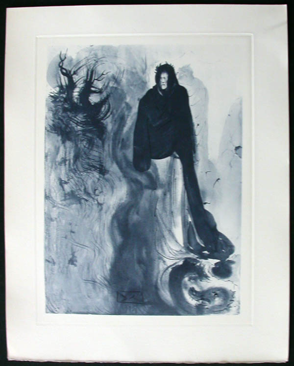 Salvador Dali - Divine Comedy Complete Books - The Waterfall ofthe Phlegethon