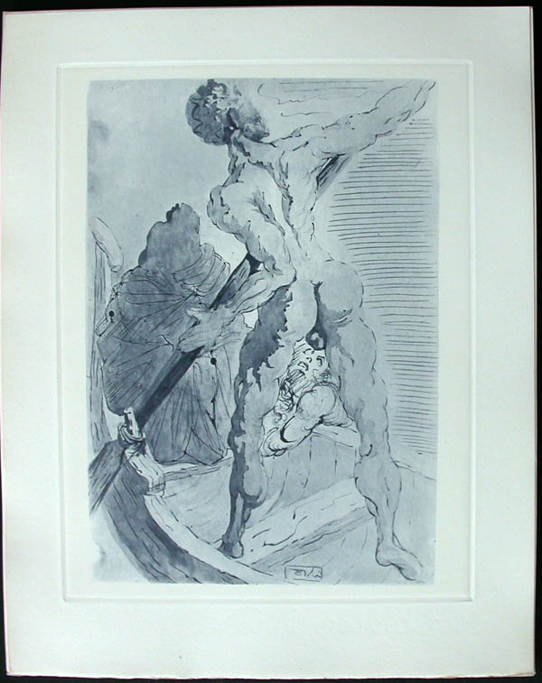 Salvador Dali - Divine Comedy Complete Books - Charon