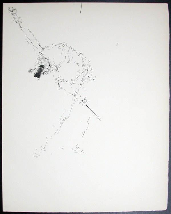 Salvador Dali - Don Quichotte de la Mancha, Book A - 1957 - Les Outres de vin The Wine Casks - #4