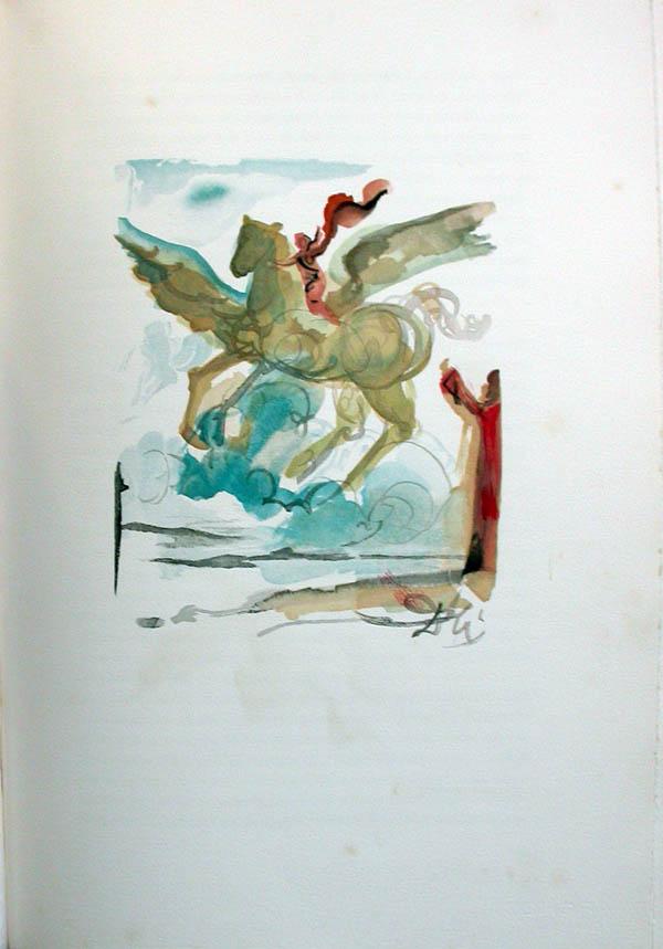 Salvador Dali - L'Art d'Aimer - Ovide - J