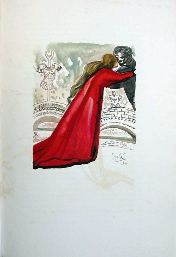 Salvador Dali - L'Art d'Aimer - Ovide - K