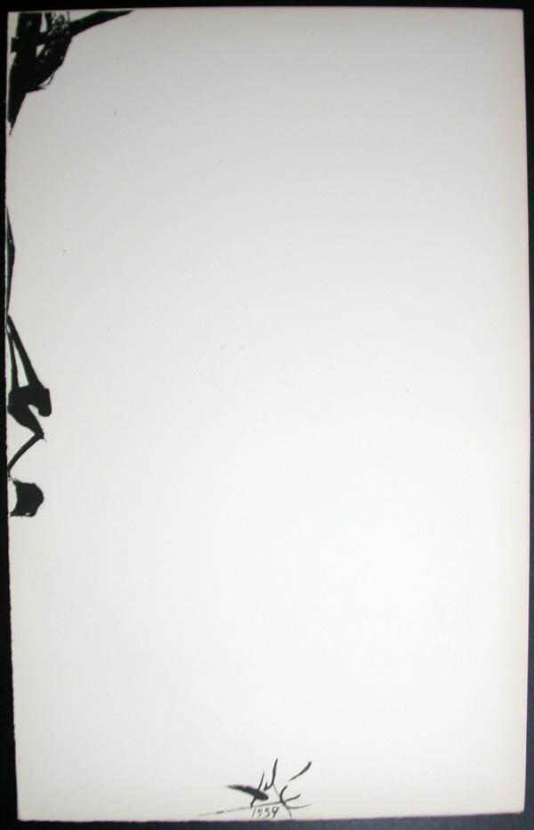 Salvador Dali - Don Quichotte de la Mancha, Book A - 1957 - Madonne - #8
