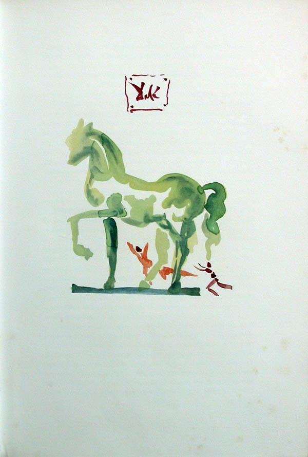 Salvador Dali - L'Art d'Aimer - Ovide - L