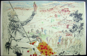 Salvador Dali - Don Quichotte de la Mancha, Book A – 1957 - L'age d'or The Golden Age