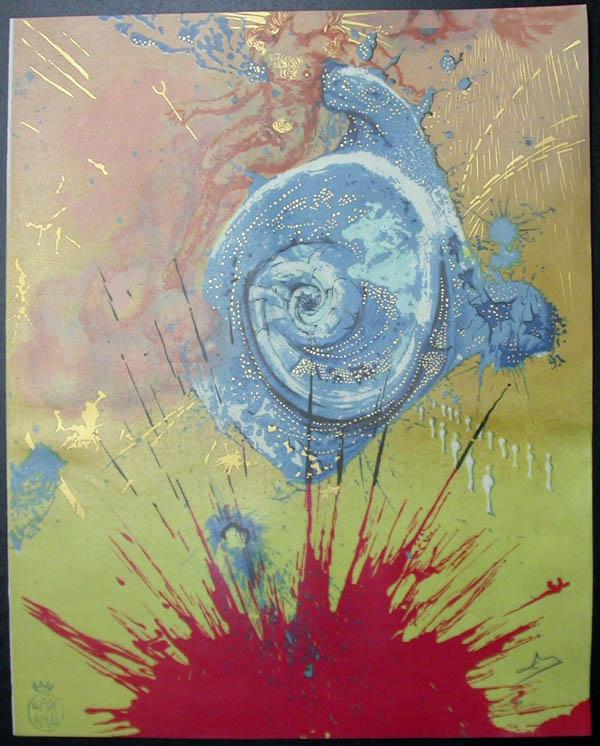 Salvador Dali - Don Quichotte de la Mancha, Book A - 1957 - L'aurore Dawn