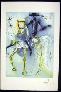 Salvador Dali - Les Chevaux de Dali - Le Picador