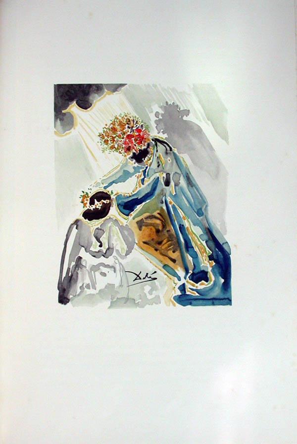 Salvador Dali - L'Art d'Aimer - Ovide - N
