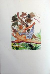 Salvador Dali - L'Art d'Aimer – Ovide - O