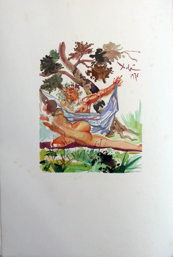 Salvador Dali - L'Art d'Aimer - Ovide - O
