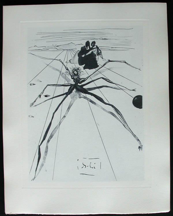 Salvador Dali - Divine Comedy Complete Books - The Law of Climbing