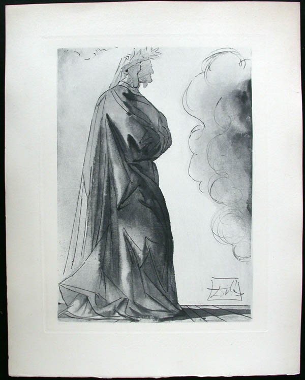 Salvador Dali - Divine Comedy Complete Books - Dante