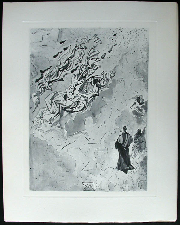 Salvador Dali - Divine Comedy Complete Books - The Constellation of Blessed Spirits