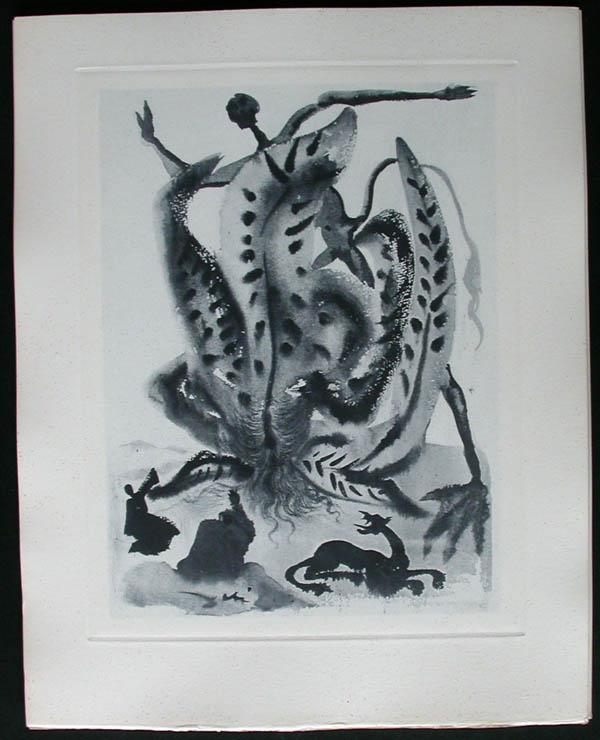 Salvador Dali - Divine Comedy Complete Books - Greed