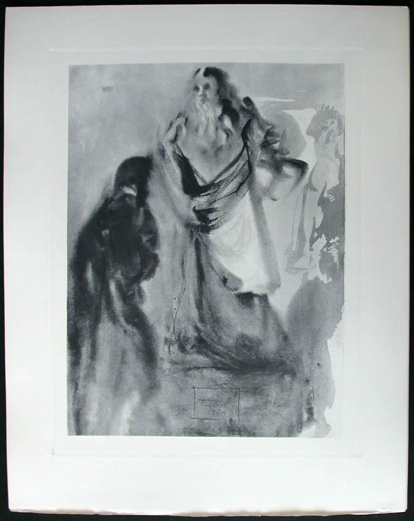 Salvador Dali - Divine Comedy Complete Books - Arrivalat the Empyrean