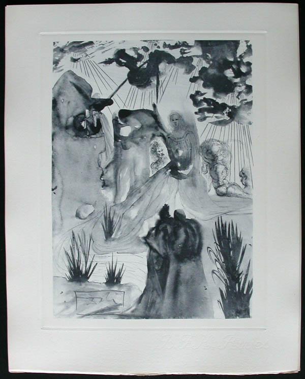 Salvador Dali - Divine Comedy Complete Books - The Divine Forest
