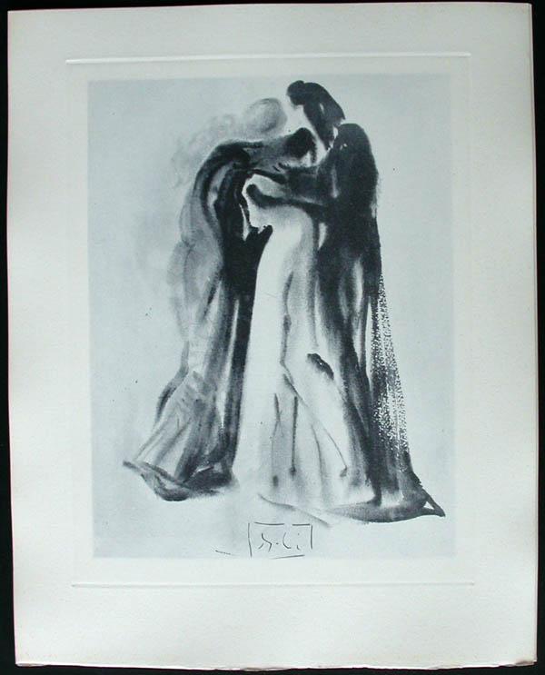 Salvador Dali - Divine Comedy Complete Books - Dante and Beatrice