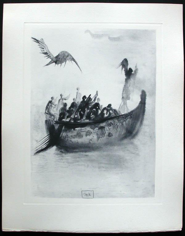 Salvador Dali - Divine Comedy Complete Books - The Guiding Angel