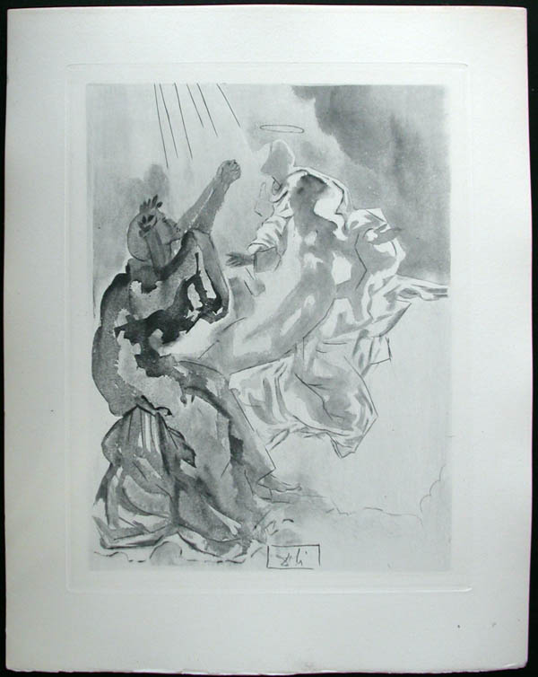 Salvador Dali - Divine Comedy Complete Books - In the Heaven of Mercury