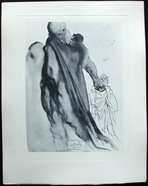 Salvador Dali - Divine Comedy Complete Books - Virgil's admonishment