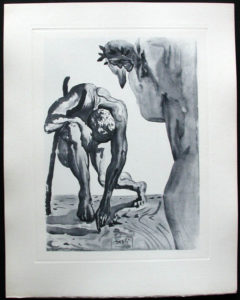 Salvador Dali - Divine Comedy Complete Books - The Law of Climbing