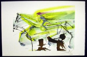 Salvador Dali - Les Chevaux de Dali - Race Horse