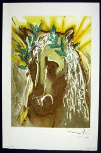 Salvador Dali - Les Chevaux de Dali - Horse of Spring